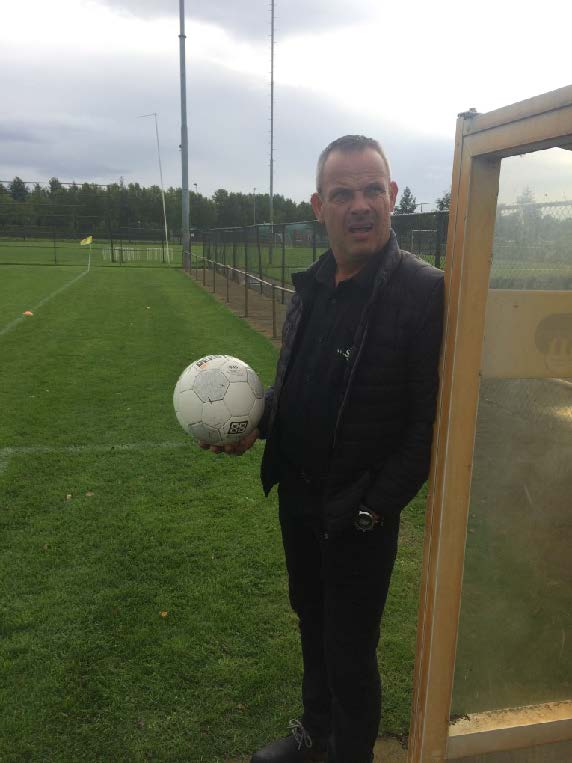 Introductie van onze hoofdtrainer