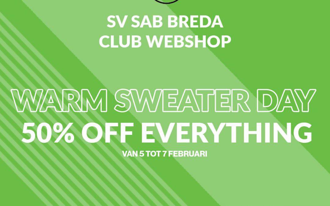 Warm sweater weekend!